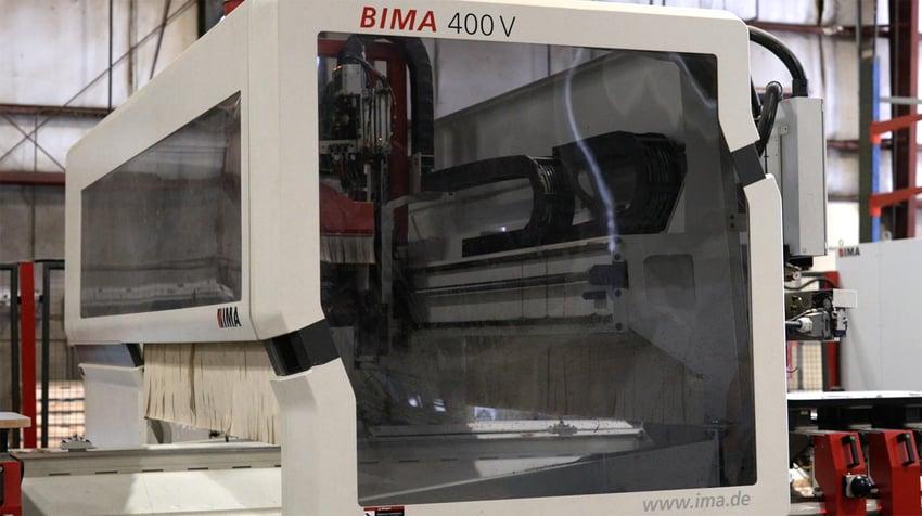 IMA BIMA 400V Contour Edgebander